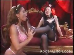 Feet Loving Lesbians