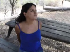 Hot booty Latina arrested and fucked for crossing the border