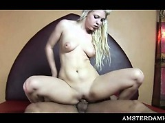 Amsterdam blonde hottie pussy nailed hardcore for money
