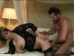Thick Busty MILF Gets Fucked