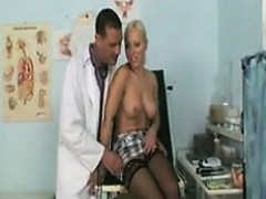 Busty Blonde Fucked By Her Doctor