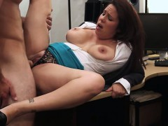 MILF shows her tits for some cash